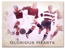 Glorious Hearts 20'' x 30'' Box Canvas